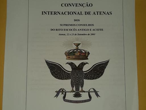 Biblioteca do Supremo Conselho Portugal - Resoluções da Convenção Internacional de Atenas