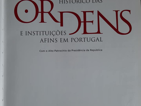 Grande Loja Nacional Portuguesa no único DICIONÁRIO HISTÓRICO das ORDENS em Portugal