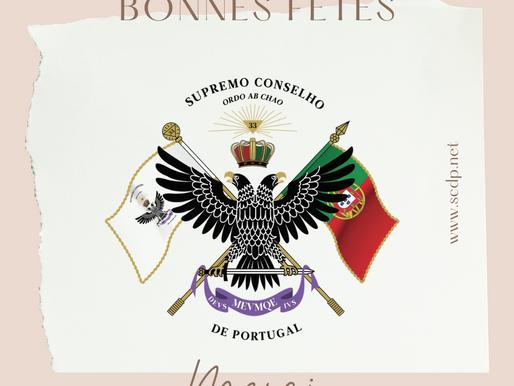 Bonnes Fêtes | 2020 | Suprême Conseil Portugal