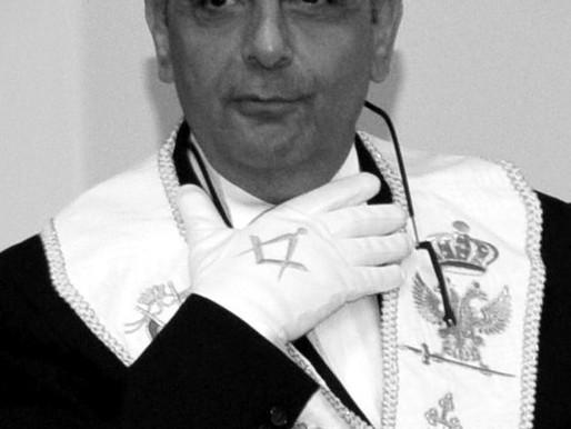 Raphael Khouri, Grand Commandeur du Conseil Suprême Unifié du Liban a rejoint l'Orient Eternel