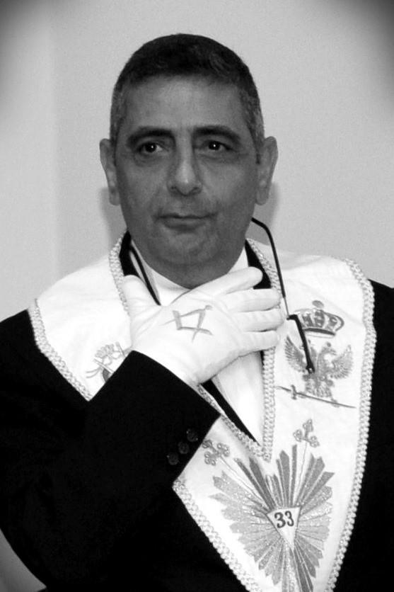 Raphael Khouri (33e) , Grand Commandeur du Conseil Suprême Unifié du Liban a rejoint l'Orient Eternel!