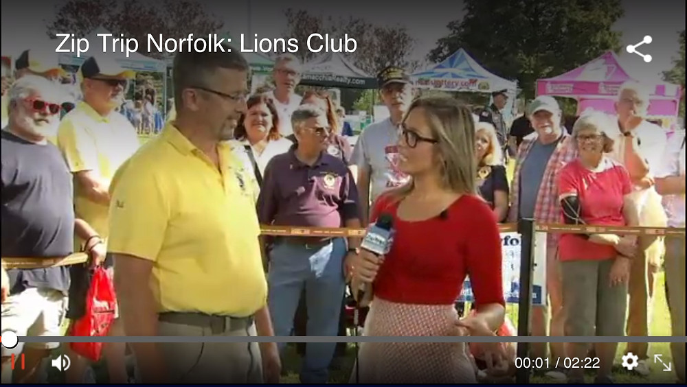 Click Image to view the Norfolk Lions Clup Zip Trip video