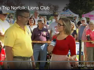 Norfolk Lions Featured on Fox 25