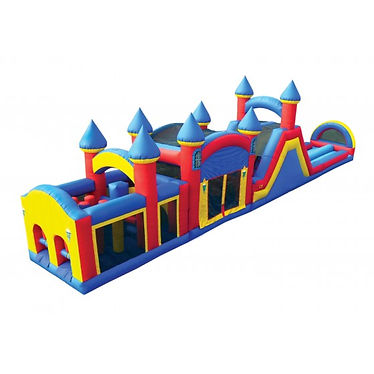 61' Obstacle Course, Delaware party rentals, inflatables