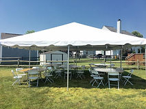 tent rentals, table and chairs, party rentals, inflatables