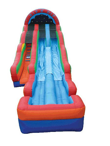 Delaware Party rentals, inflatable water slides