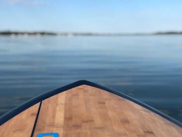 Paddleboarding at Buffalo lake
