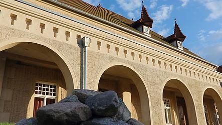 Schloss am Haff. Westfügel Stolpe.