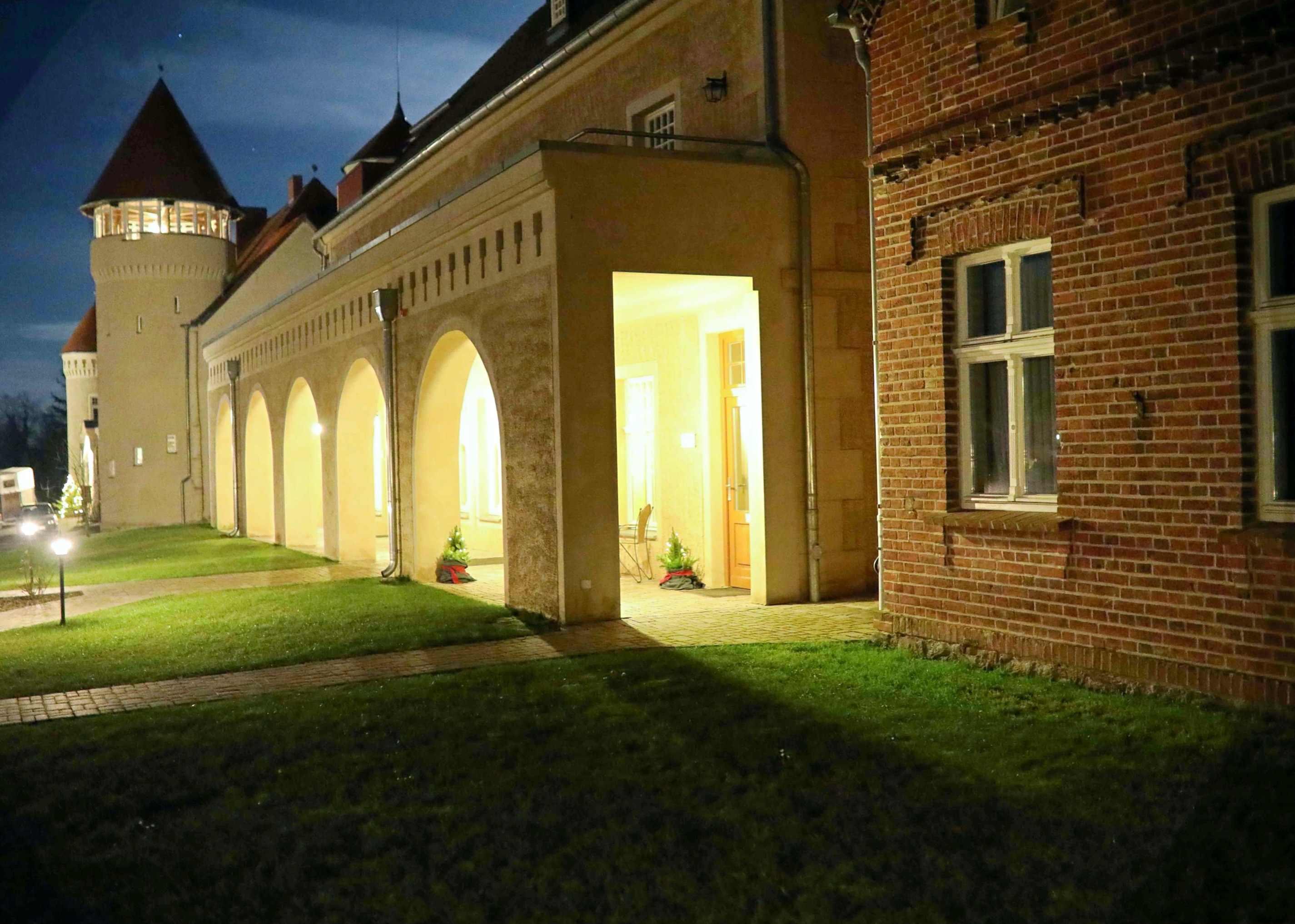 Westflügel Schloss Stolpe