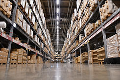 It is a warehouse of a large-scale shopp