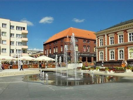 Die Stadt Swinemünde.
