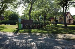 Stolpe auf Usedom. Schloss am Haff.