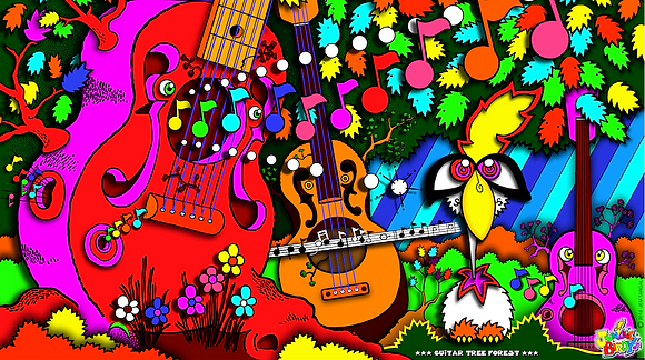 Guitar Tree Forest
