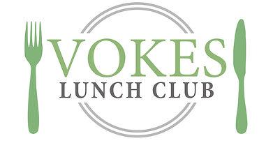 Vokes lunch club logo