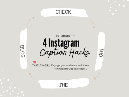 Engage Your Audience With These 4 Instagram Caption Hacks