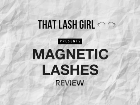 Magnetic Strip Lashes Review