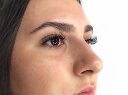 volume lash extensions done by that lash girl's student