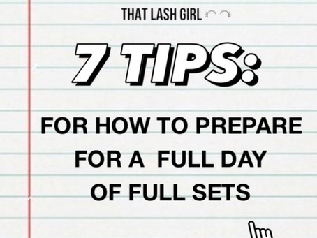Mind-Full Set Day! - 7 tips for how to prepare for a full day of full sets