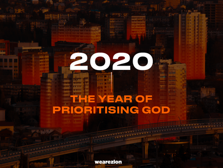 A YEAR OF PRIORITISING GOD 2020