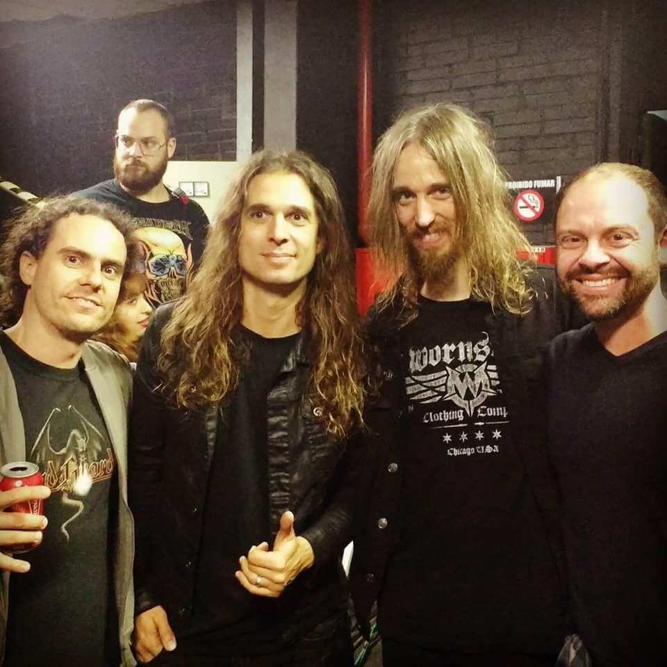 With Kiko Loureiro & Dirk Verbeuren