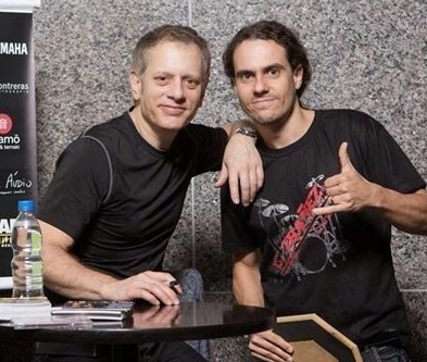 With Dave Weckl