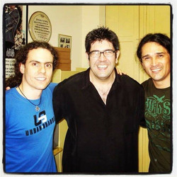 With Kiko Freitas & Aquiles Priester