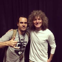 With Tommy Aldridge