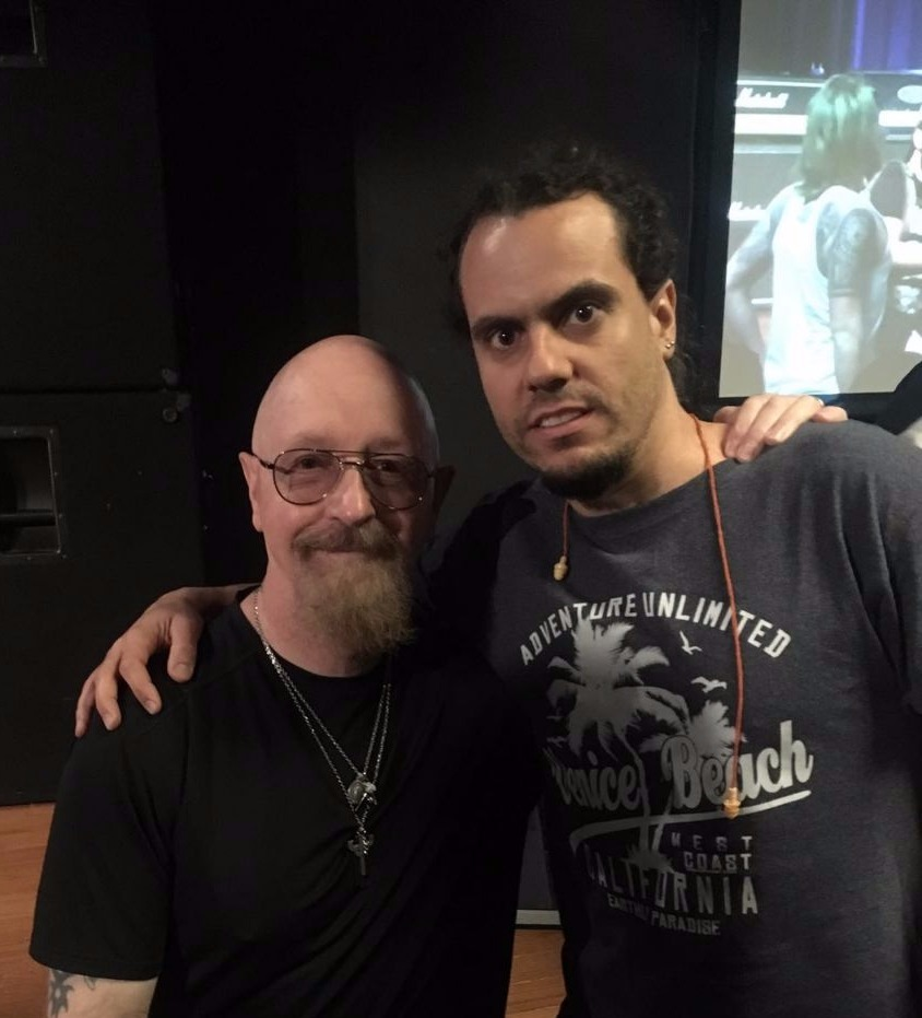 With Rob Halford (Judas Priest)