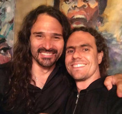 With Aquiles Priester