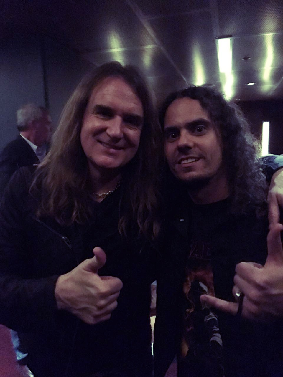 With David Ellefson (Megadeth)