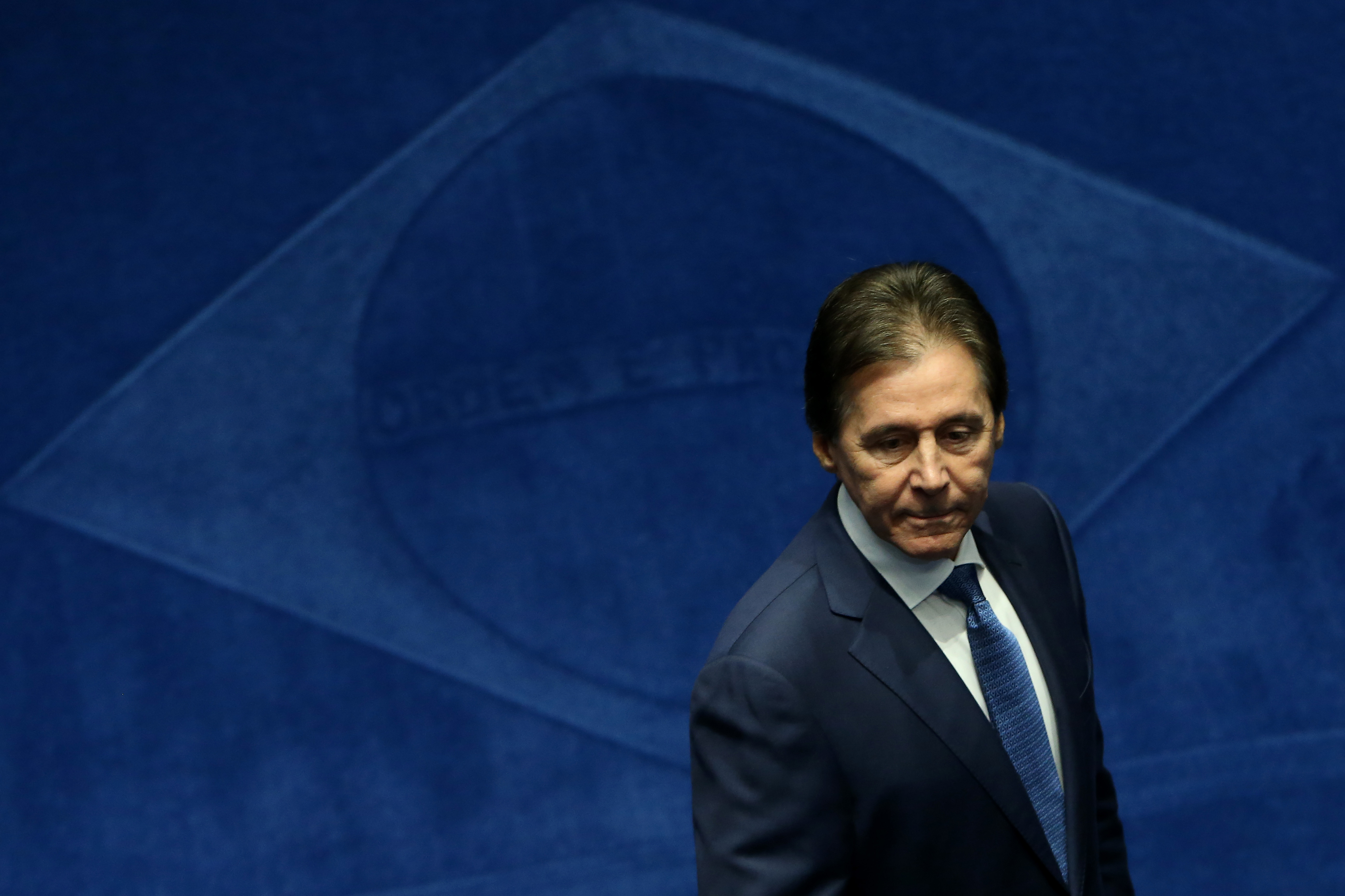 Pres. do Senado Eunicio Oliveira