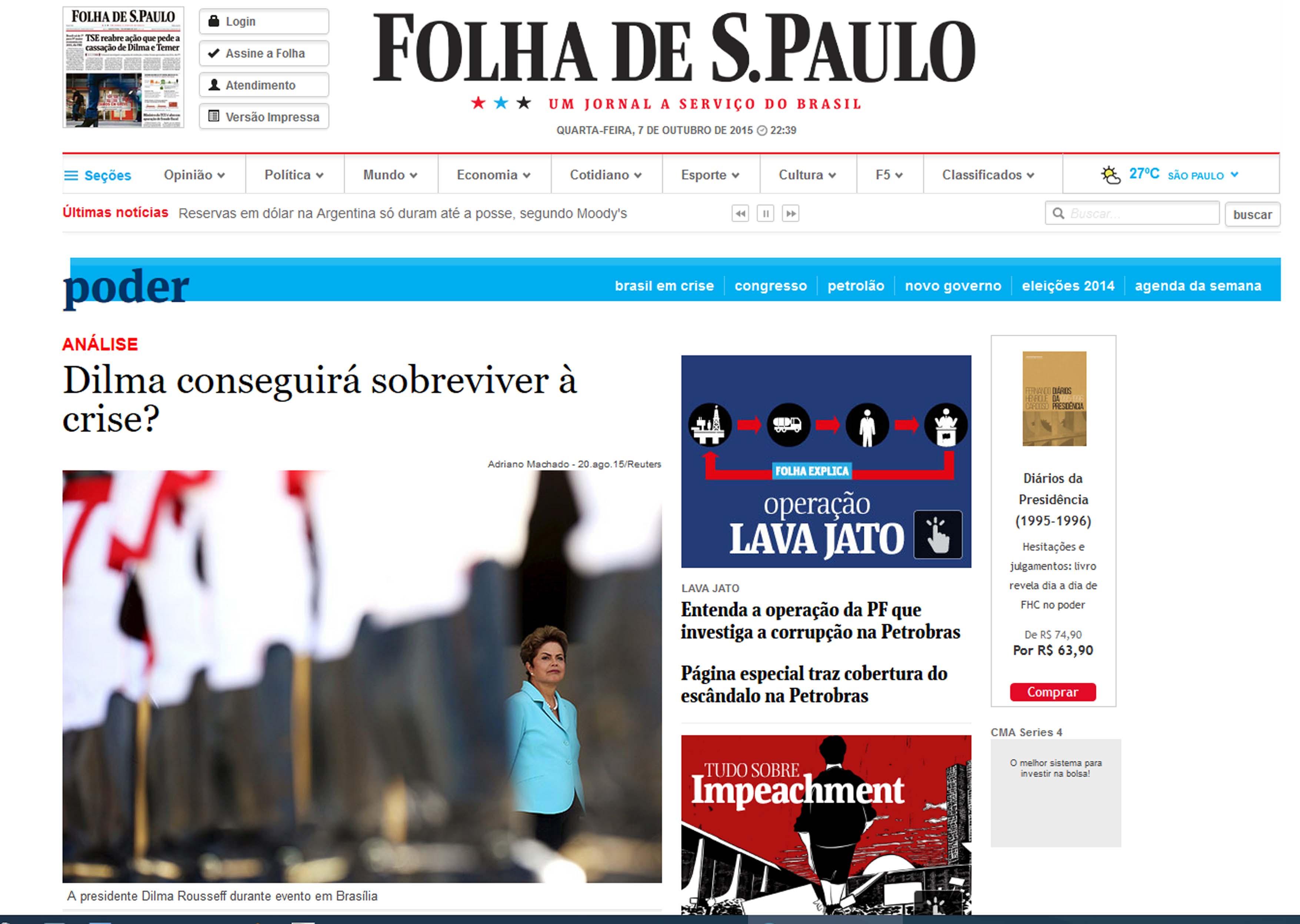 Publicacao Folha Sao Paulo