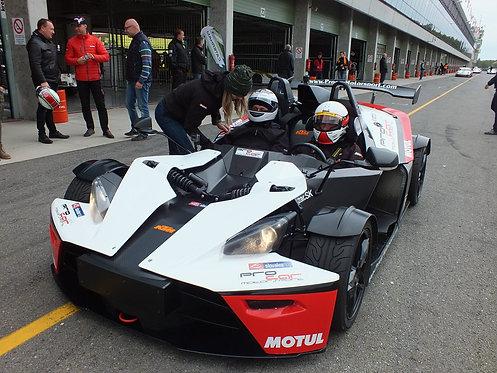 Racetaxi KTM X-Box