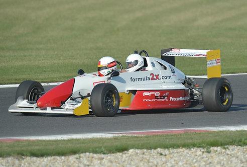 Racetaxi  Dvojmiestna Formula 2x