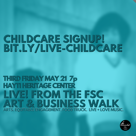 It Was All A Dream: MAY 21 LIVE! From The FSC 3rd Friday Art & Business Walk