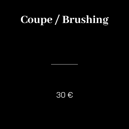Formule coupe brushing  enfant salon cutty's hair design salon de coiffure lyon broteaux lyon 6  cours lafayette