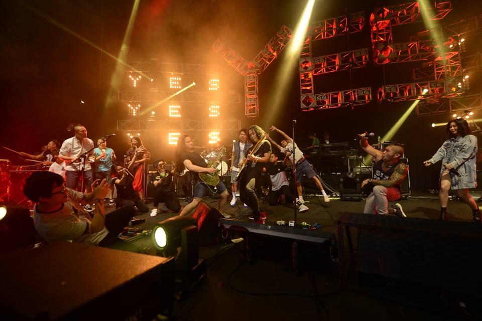 《Yes rock大混戰音樂節》