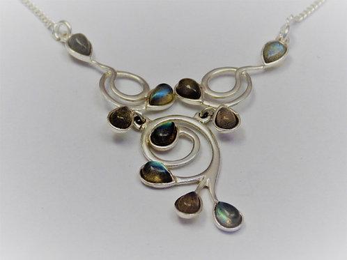 Labradorite necklace by Annie Scales