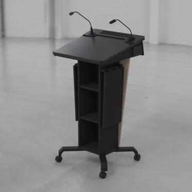 BGL-PS50-P-Castors-Ext Shelves Lowered