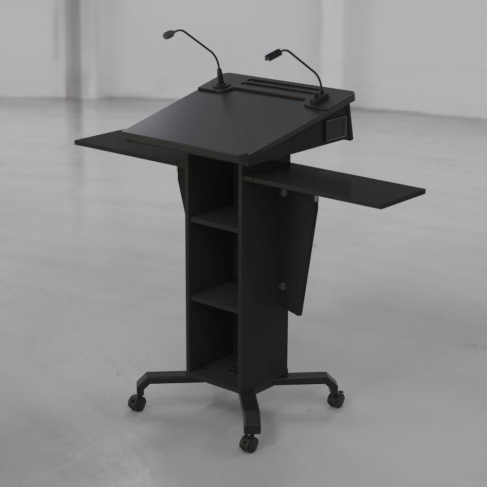 BGL-PS50-Castors-Ext Shelves Up