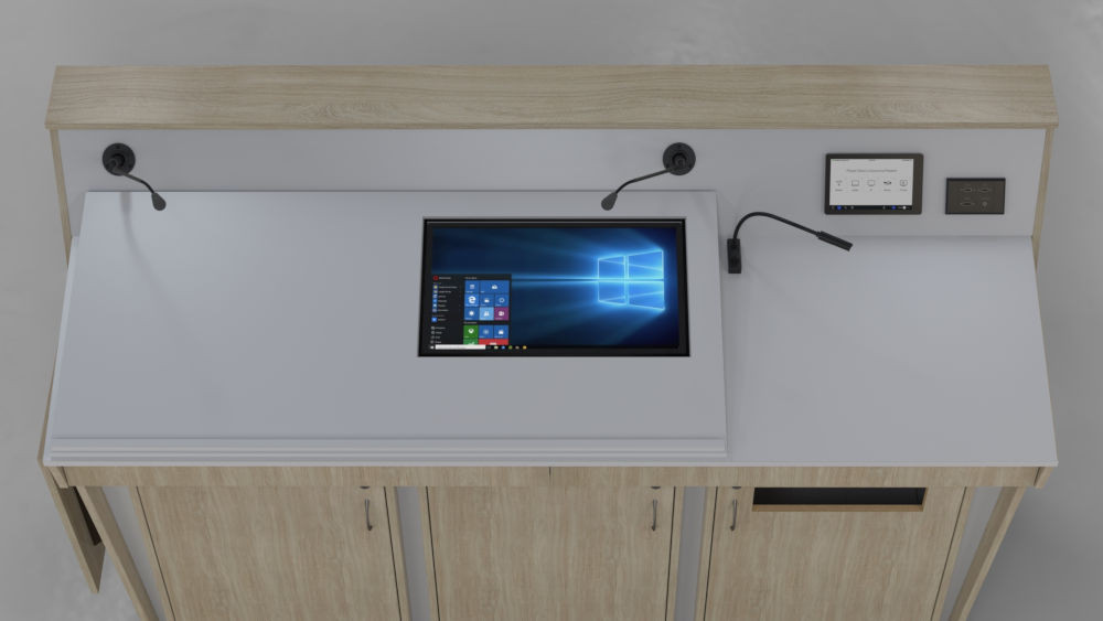 BGL-TM03LA -Monitor set into top