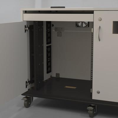 Rack Strip Spacer Panel