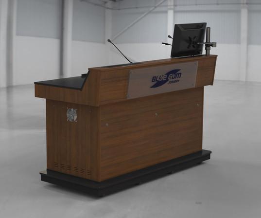 BGL-CPM03LA with logo and monitor pole