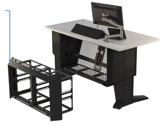 L-Series Version 2 Removable 20 RU Rack