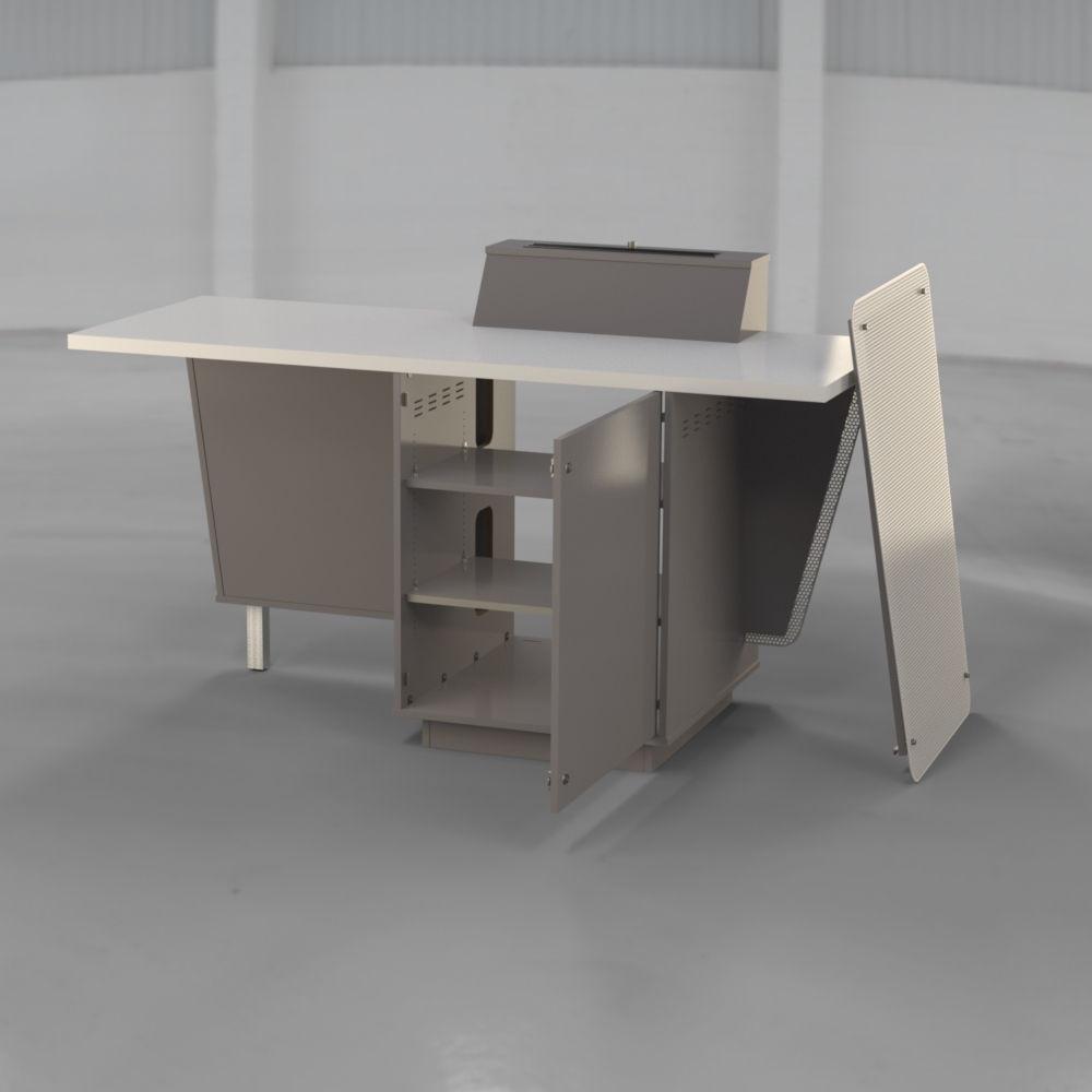 G-Series - Presenter Table - Doors Open