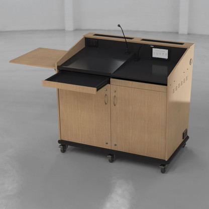 BGL-M02LA - Drawer open - Shelf Raised