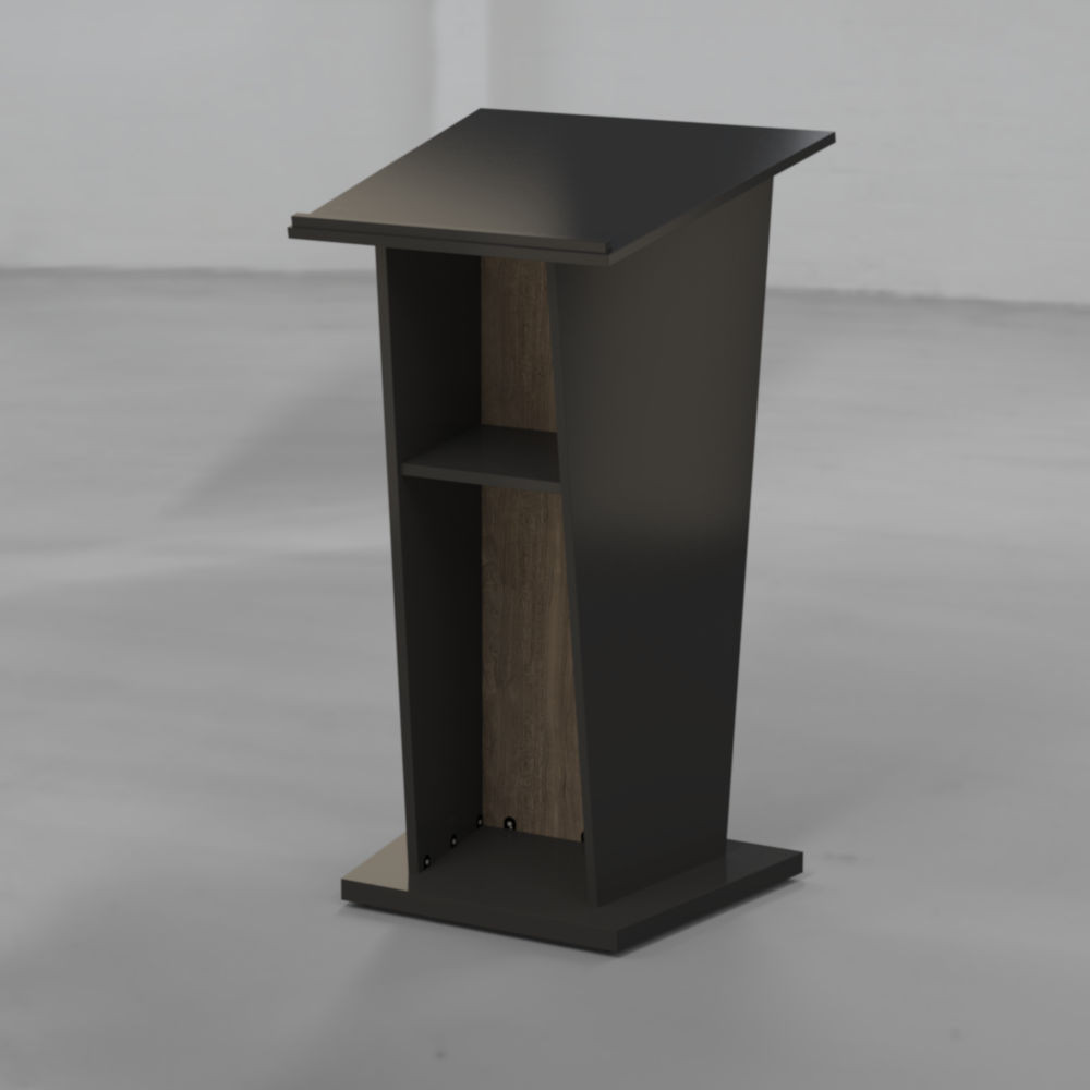 BGL-SBM-2B Lectern with Timber Face