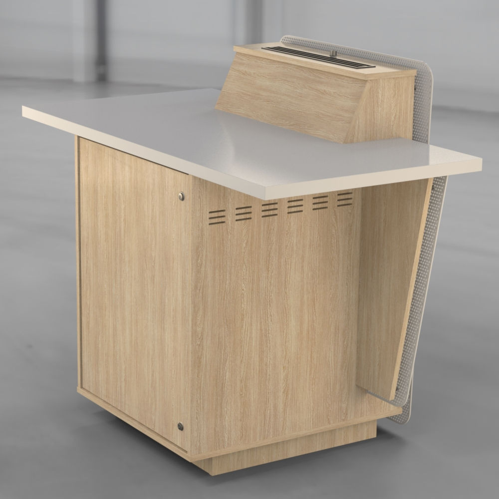 G-Series - Single Bay - Seasoned Oak