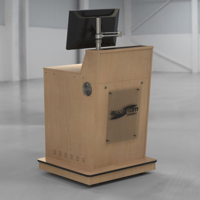 BGL-M01 Castor Kickboard Base
