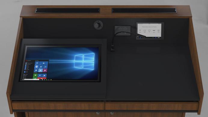 BGL-CPM02LA Monitor behind glass